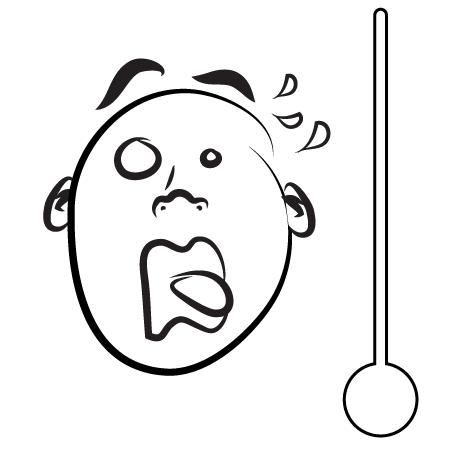 thermometre du calme